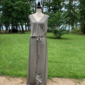 Vince Camuto Ethereal Dawn Faux Wrap Jumpsuit